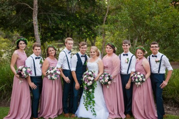 B & M Wedding Nerang QLD-81
