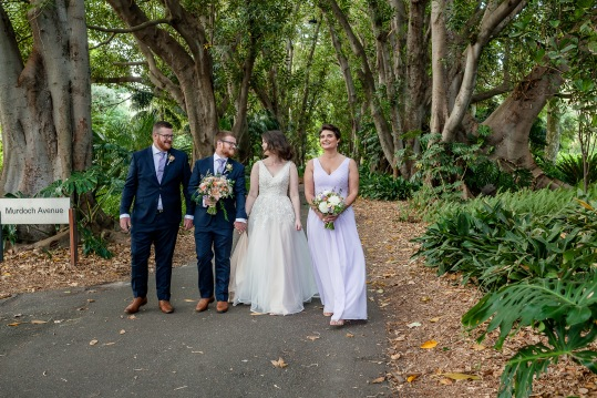 Adelaide Botanic Gardens Wedding-61
